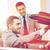 boldog · autókereskedő · férfi · autó · kereskedés · bérlet - stock fotó © dolgachov