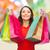 女性 · ショッピングバッグ · ストア · 販売 · 人 · 笑顔の女性 - ストックフォト © dolgachov