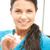 körmök · közelkép · női · körmök · piros · kéz - stock fotó © dolgachov