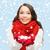 kadın · büyük · kar · tanesi · kış · insanlar · mutluluk - stok fotoğraf © dolgachov