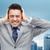 бизнесмен · голову · отчаяние · служба · человека - Сток-фото © dolgachov
