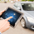 close up of man with tablet pc diagnoses car foto stock © dolgachov