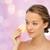 fiatal · nő · takarítás · arc · szivacs · szépség · emberek - stock fotó © dolgachov