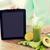 vrouw · groenten · gezond · eten · technologie - stockfoto © dolgachov