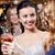 mutlu · kadın · içecekler · gece · klübü · kutlama · arkadaşlar - stok fotoğraf © dolgachov