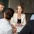 iş · ekibi · toplantı · ofis · iş · adamları · teknoloji · planlama - stok fotoğraf © dolgachov
