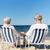 vergadering · stoelen · zomer · strand · familie - stockfoto © dolgachov