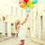 sorrindo · colorido · balões · fora · verão · férias - foto stock © dolgachov