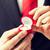 ロマンチックな · 男 · 結婚 · 提案 · 女性 - ストックフォト © dolgachov