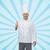 mutlu · erkek · şef · pişirmek - stok fotoğraf © dolgachov