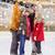 happy friends taking selfie on skating rink stock photo © dolgachov
