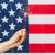 sparkler · EUA · bandeira · fogo - foto stock © dolgachov