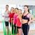 persone · gruppo · pilates · classe · fitness · sport - foto d'archivio © dolgachov