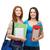 dois · sorridente · estudantes · escolas · educação - foto stock © dolgachov