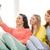 trzy · uśmiechnięty · nastolatki · smartphone · kamery - zdjęcia stock © dolgachov