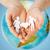 женщину · человека · рук · земле · планете · Земля - Сток-фото © dolgachov