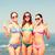 groep · glimlachend · jonge · vrouwen · strand · zomervakantie · vakantie - stockfoto © dolgachov