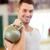 гири · фитнес · человека · веса - Сток-фото © dolgachov