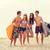 surfers · spiaggia · estate · surfer · donna - foto d'archivio © dolgachov