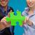 działalności · koledzy · kawałek · puzzle · biuro - zdjęcia stock © dolgachov