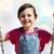 幸せ · 女の子 · 笑みを浮かべて · スイング · 草 · 学校 - ストックフォト © dolgachov