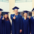 groep · glimlachend · studenten · onderwijs · afstuderen · mensen - stockfoto © dolgachov