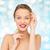 cor · retrato · mulher · macio · fantástico - foto stock © dolgachov