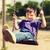 счастливым · мало · мальчика · Swing · площадка · лет - Сток-фото © dolgachov