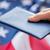 американский · флаг · паспорта · гражданство · национализм · синий - Сток-фото © dolgachov