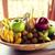 tropische · vruchten · Geel · creatieve · lay-out - stockfoto © dolgachov