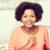 felice · african · american · donna · laptop · home · persone - foto d'archivio © dolgachov