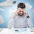 ansioso · empresario · teléfono · móvil · teléfono · trabajo · triste - foto stock © dolgachov