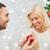 hombre · mujer · anillo · de · compromiso · Navidad · amor · Pareja - foto stock © dolgachov
