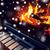 yakacak · odun · yanan · şömine · kar · kış - stok fotoğraf © dolgachov