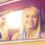 heureux · femme · Auto · montrent · salon - photo stock © dolgachov
