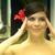 jeune · femme · regarder · miroir · fille · visage · femmes - photo stock © dolgachov