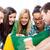 grup · mutlu · Öğrenciler · kahve · yaz - stok fotoğraf © dolgachov