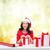 inpakpapier · decoratie · onherkenbaar · vrouw · schort - stockfoto © dolgachov
