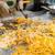 close up of cook frying wok at street market stock photo © dolgachov