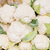 close up of cauliflower at street market stock photo © dolgachov