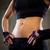mulher · muscular · torso · caber · músculos - foto stock © dolgachov