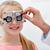 оптик · кадр · девушки · клинике · медицина - Сток-фото © dolgachov