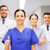 medics or doctors at hospital showing thumbs up stock photo © dolgachov