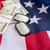 american flag dollar money and military badges stock photo © dolgachov