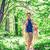 gelukkig · gezin · wandelen · bos · avontuur · reizen · toerisme - stockfoto © dolgachov
