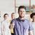 csoport · spanyol · üzletemberek · remek · üzlet · mosoly - stock fotó © dolgachov