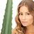 женщину · алоэ · фотография · лице · здоровья · зеленый - Сток-фото © dolgachov