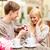 romantic man proposing to beautiful woman stock photo © dolgachov
