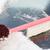vrouw · schoonmaken · sneeuw · auto · vervoer - stockfoto © dolgachov