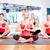 グループ · 笑みを浮かべて · 女性 · 瞑想 · ヨガのポーズ · フィットネス - ストックフォト © dolgachov